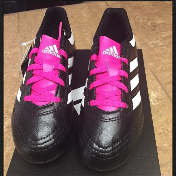 new arrival a0704 9468c BNIB Girls Adidas Soccer Cleats.
